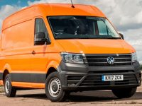 Volkswagen Crafter named best van at the Parkers New Car Awards 2018